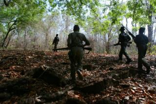Maoist rebels file picture