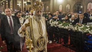 Глава египетских коптов-христиан патриарх Александрийский Феодоро (Тавадрос) II