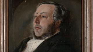 Portrait of E G Salisbury - 1867
