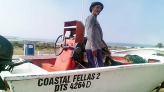 Fisherman David Shoshola