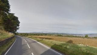 A862 near Inchmore