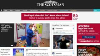 Scotsman online