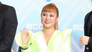 29일 열린 '2019 MBC 방송연예대상'에서 대상을 받은 박나래