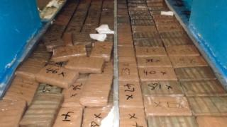 A stash of drugs seized in April 2020