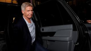 Harrison Ford in Los Angeles. Photo: February 2020