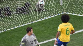 Marcelo became in 2014 the first Brazilian player to score an own goal in a World Cup