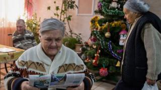 huzurevindeki yaşlılar