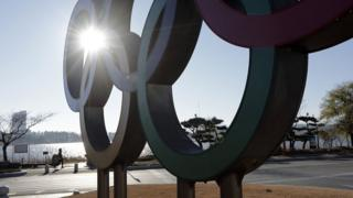 نشان المپیک در پیونگ یانگ