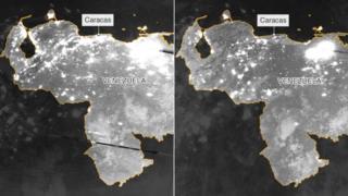Venezuela desde el espacio