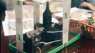Шоколадна модель собору в Солсбері