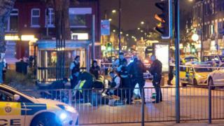 man dies in stabbing near turnpike lane tube station. Black Bedroom Furniture Sets. Home Design Ideas