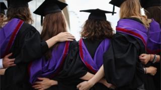 University students graduate