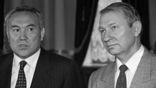 Назарбаев и Кучма