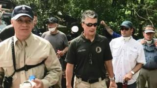 Cristóbal Castañeda y funcionarios de EE.UU.