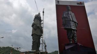 Patung Patel di India