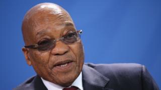 Uwahoze atwara Afrika y'epfo, Jacob Zuma