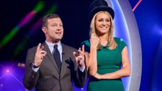 Dermot O'Leary and Tess Daly