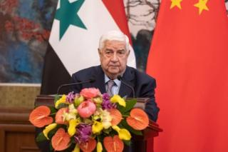 Suriye Dışişleri Bakanı Velid El Muallim