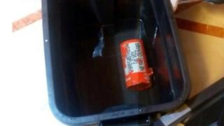 A flight data recorder retrieved from the crashed EgyptAir