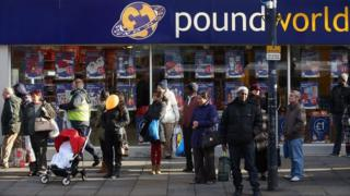 Exterior of Poundworld