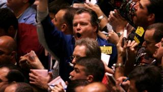 oil traders on the NYMEX