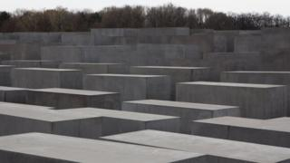 Memorial to the Murdered Jews of Europe in Berlin, Germany.