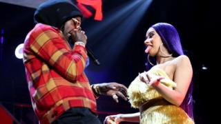 Rappers, Offset and Cardi B