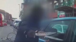 Croydon knife incident