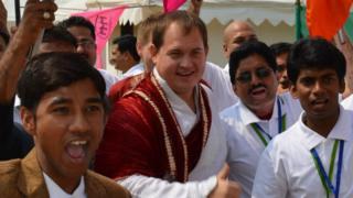 Алексей Муратов в Индии