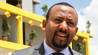 Abiy Ahmed (file photo)