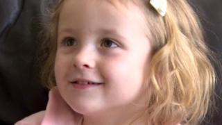 Four-year-old Farrah Morton
