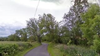B6359 road