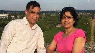 Vijay Patel and Vibha Patel
