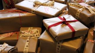 Pile of parcels