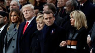 World leaders in paris