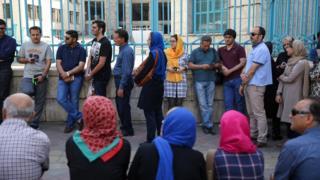 حوزه رای گیری در تهران