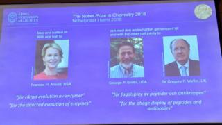 نوبل شیمی ۲۰۱۸
