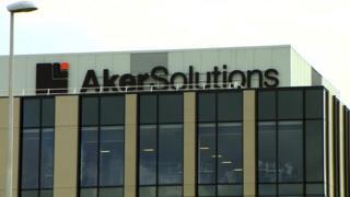 Aker offices in Aberdeen