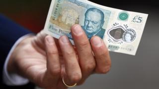 Пятифунтовая банкнота