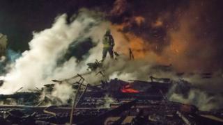 пожежа в таборі в Одесі