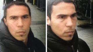 Imagens do suspeito de ataque em Istambul divulgadas pela polícia