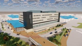 Artist's impression of the planned Emergency Department at Royal Bournemouth Hospital