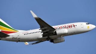 Ethiopian airways plane