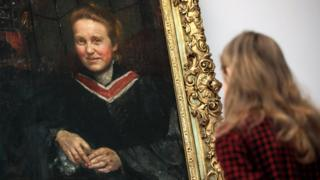 Annie Swynnerton's portrait of suffragist leader Dame Millicent Fawcett