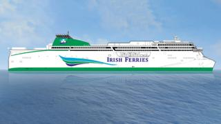 An artist's impression of the new vessel
