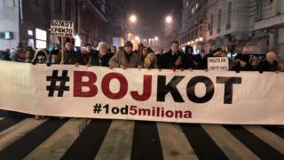 protesti 18. 1. 2020.