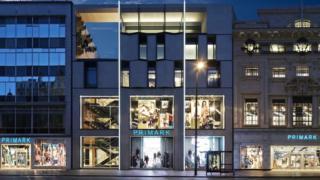 Primark store Oxford Street London