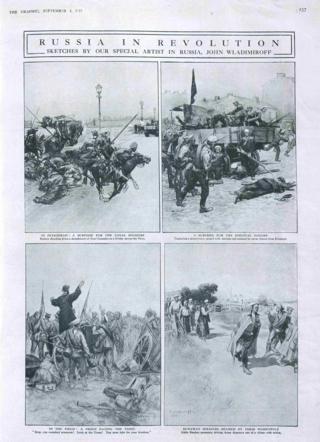 Газета The Graphic - 1917 год