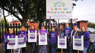 Ladywood Primary School strike action