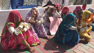 تھر کی خواتین کا احتجاج